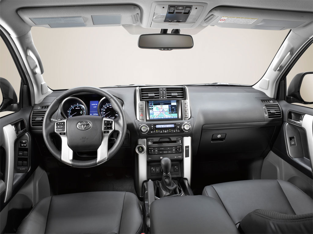 on Toyota Prado 2012 Interior